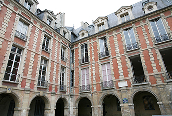 Visitor information Hugo's House Place des Vosges / Paris